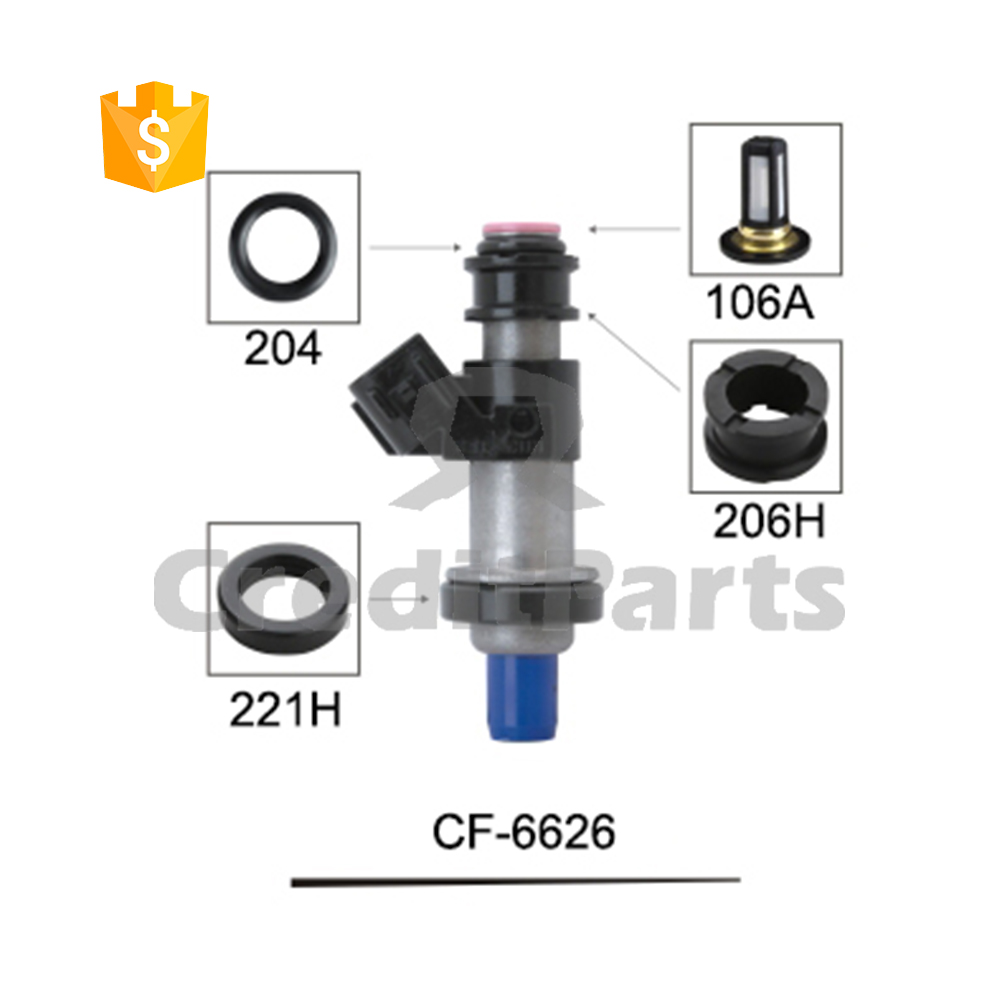 Cf-6626 Auto Parts Denso Fuel Injector Service Repair Kits - Buy Denso  Injector Repair Kits,Fuel Injector Service Repair Kits,Injector Replace Part  Product ...