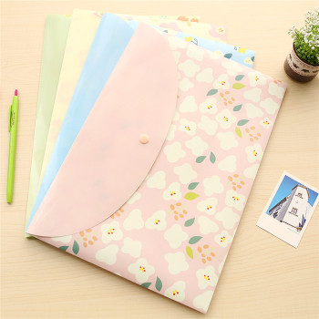 Cartoon Size Holders School Supplies File Folder File bag A4 paper document Office Portfolio dosya material