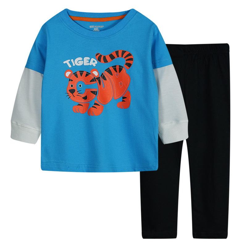 Children Autumn 2015 Cotton O-neck Children Clothing Pullover Brand Baby Boys Clothing Sets Chandal Winter Boys Clothing Sets