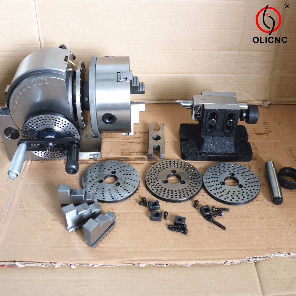 China Manufacturer Cheaper CNC Semi BS0 BS1 BS2 Universal Dividing Head