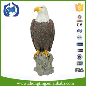 Factory direct Garden Ornament animal figure ceramic garden statues eagle