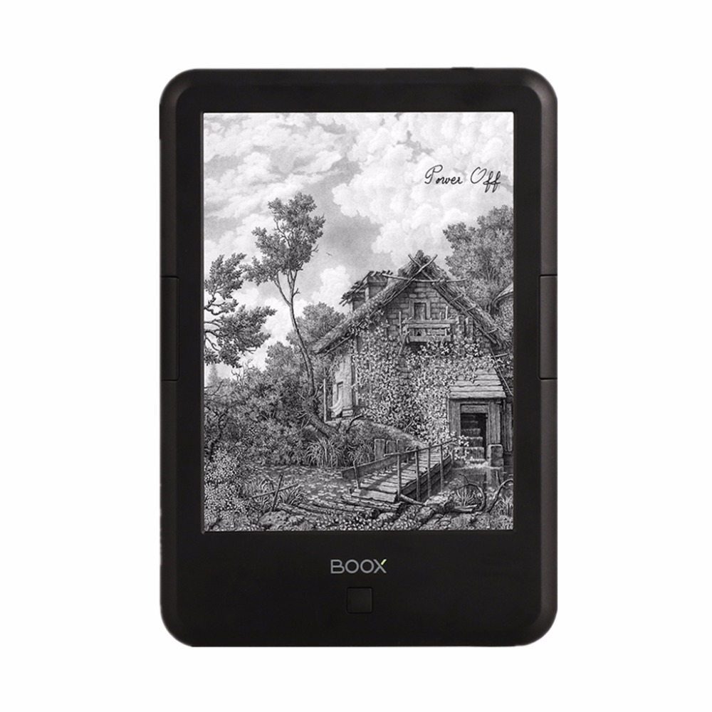 6 inch eink Onyx Boox ebook reader with educational contents