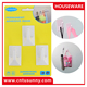 ABS bathroom towel/wall-mounted towels hanging,plastic adhesive wall towel hooks