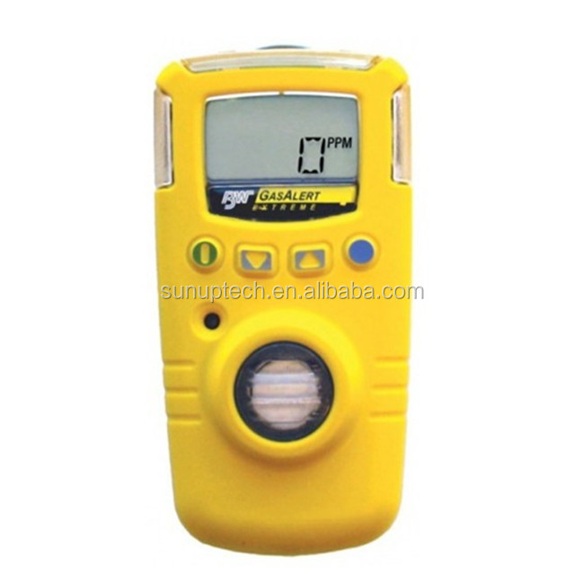 BW GAXT-H-2-DL GasAlert Extreme Single Gas Detector H2S 0-500 ppm
