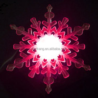 Battery Operated Led Snowflake Lights/snowflake Window Suckers ...
