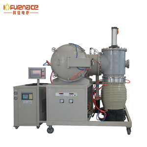 lab vacuum glass , metal melting furnace / quenching and tempering furnace made in China