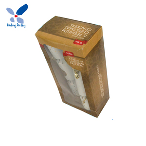 Hot Selling Custom Order Liquor Bottle Packaging Folding Standard Box Cardboard Gift Paper Box with PVC Window