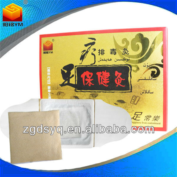 Chinese Moxa Acupoints Therapy Apparatus Patch Detox Foot