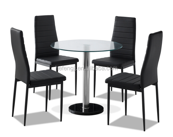 round glass dining table and  chairs round glass dining table and  chairs suppliers and manufacturers at alibabacom: 4 chair kitchen table