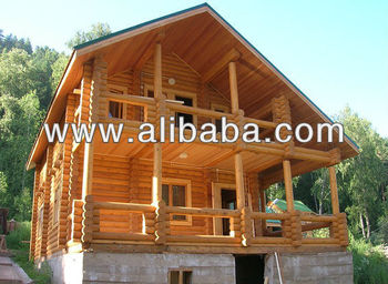 Log Cabin 8x8 M Hand Crafted Or Milled Logs From Siberian Pine Or