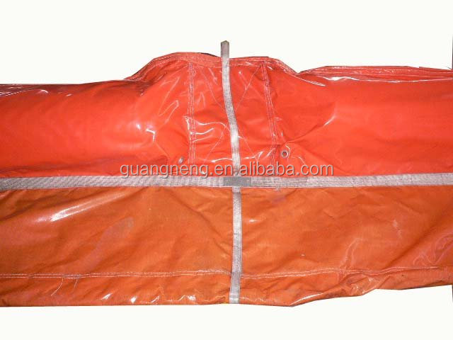 Rubber Oil Absorbent Boom,Pvc Oil Fence,Oil Containment Boom/oil ...