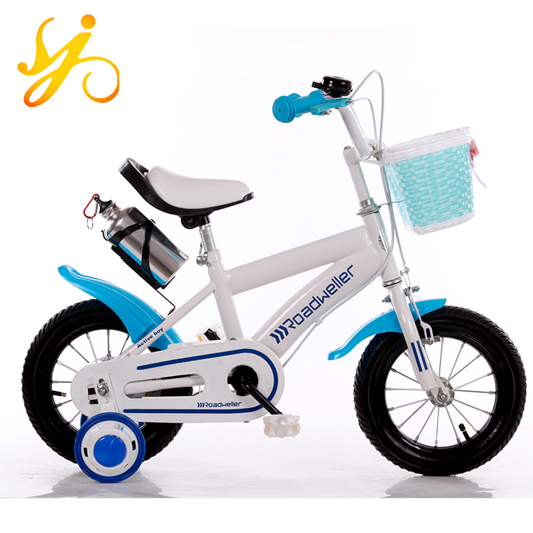 Heavy carbon steel kids bikes China wholesale/ children bike CE CCC standard factory/ baby bike for sale pink white blue