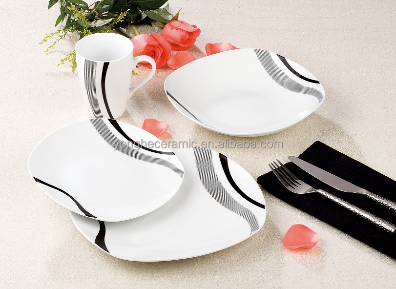 Newest porcelain dinner set 16pcs