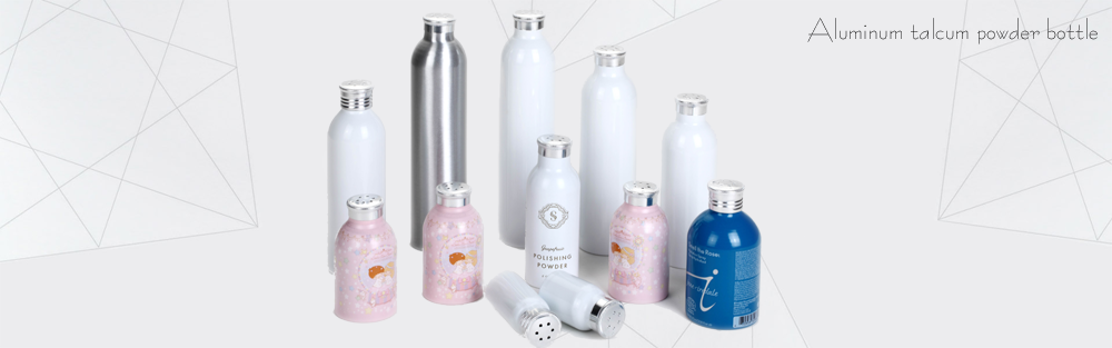 120ml bottle aluminum talcum powder bottle stainless steel baby bottle joyshaker