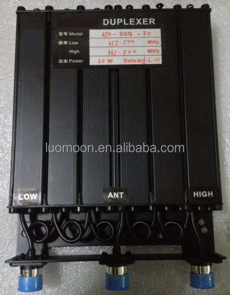 6 Cavity UHF 30W Duplexer for repeater and mobile radio