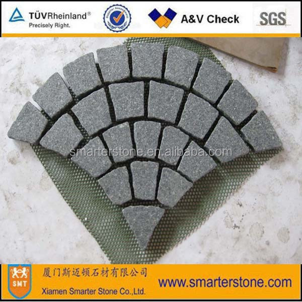 Artificial Paving Stone Fan Shape Mesh Paver