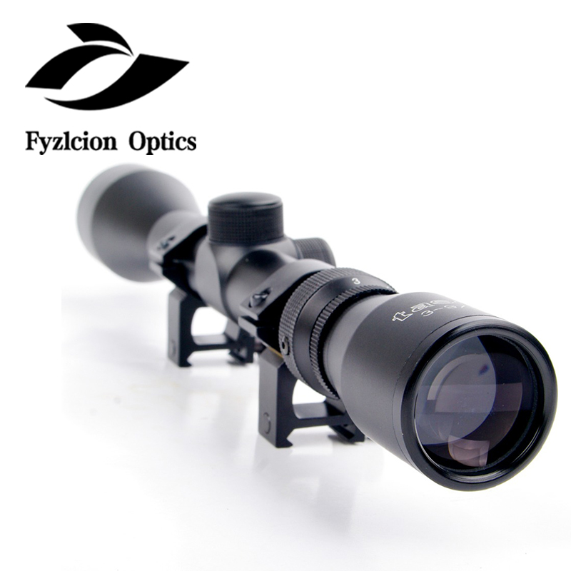New Style 3-9x40 Hunting Scope Riflescope Mil Dot Air Rifle Gun Optics Sniper Deer Hunting Scope With 20mm Rail Mount