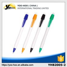 Promotional plastic ball pens with printed logo