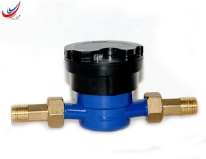 Single jet type water meter modbus water meter for for individual flats