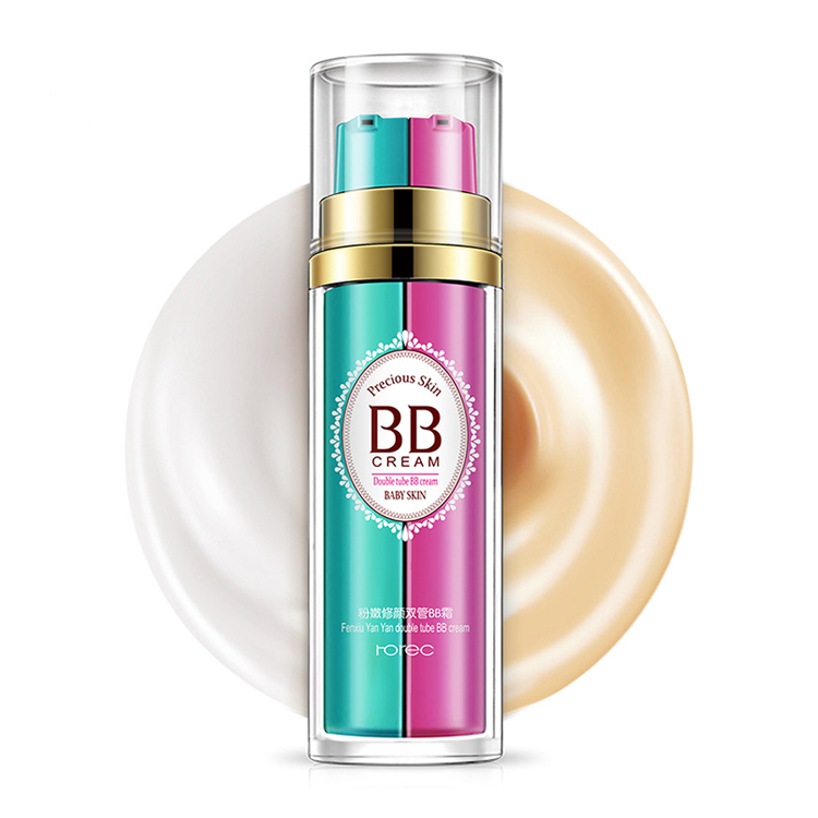 Private label new design 2 in 1 baby skin bb cream korea for dry skin