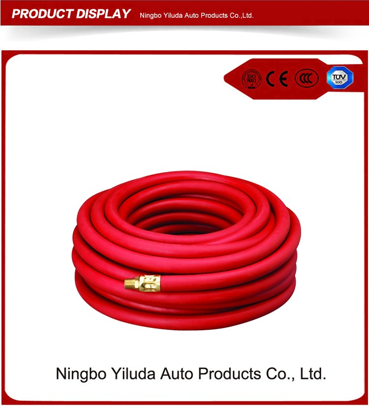"BellRight Rubber air hose with 1/4"" male fitting"