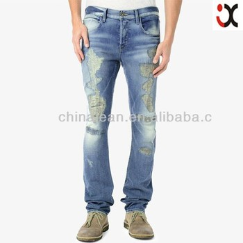 2015 Brand Pants New Design Boot Cut Ripped Jeans Men Jxq301 - Buy ...