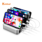 4.8 Amp 4-Port USB Charging Station Fast Charge Docking Station for Multiple Devices - Multi Device Charger Organizer for Phones