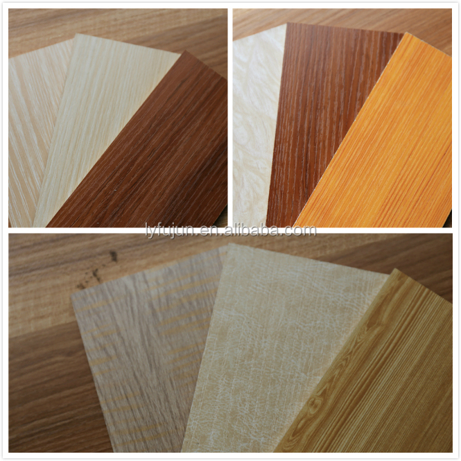 melanine MDF board with decorative paper