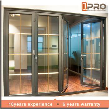 2016 new designer doors with double leaf door for folding for Door new design 2016