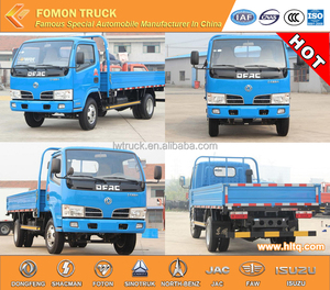 dongfeng cargo truck carry truck euro3 3300mm 5tons load capacity for sale