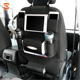 Premium Multipocket PU Leather Backseat Car Organizer with Ipad Holder