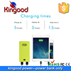 Guangdong mobile phone chargers LCD screen fast charging super slim rohs mobile powerbank lithium polymer 10000 mah battery