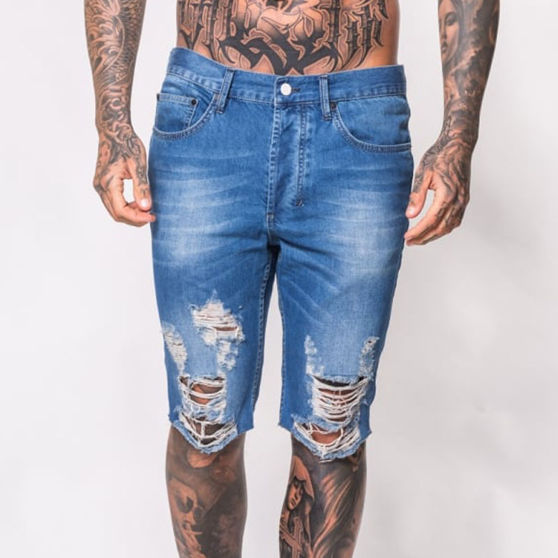 denim plain washed jeans half short pants latest fashion new design
