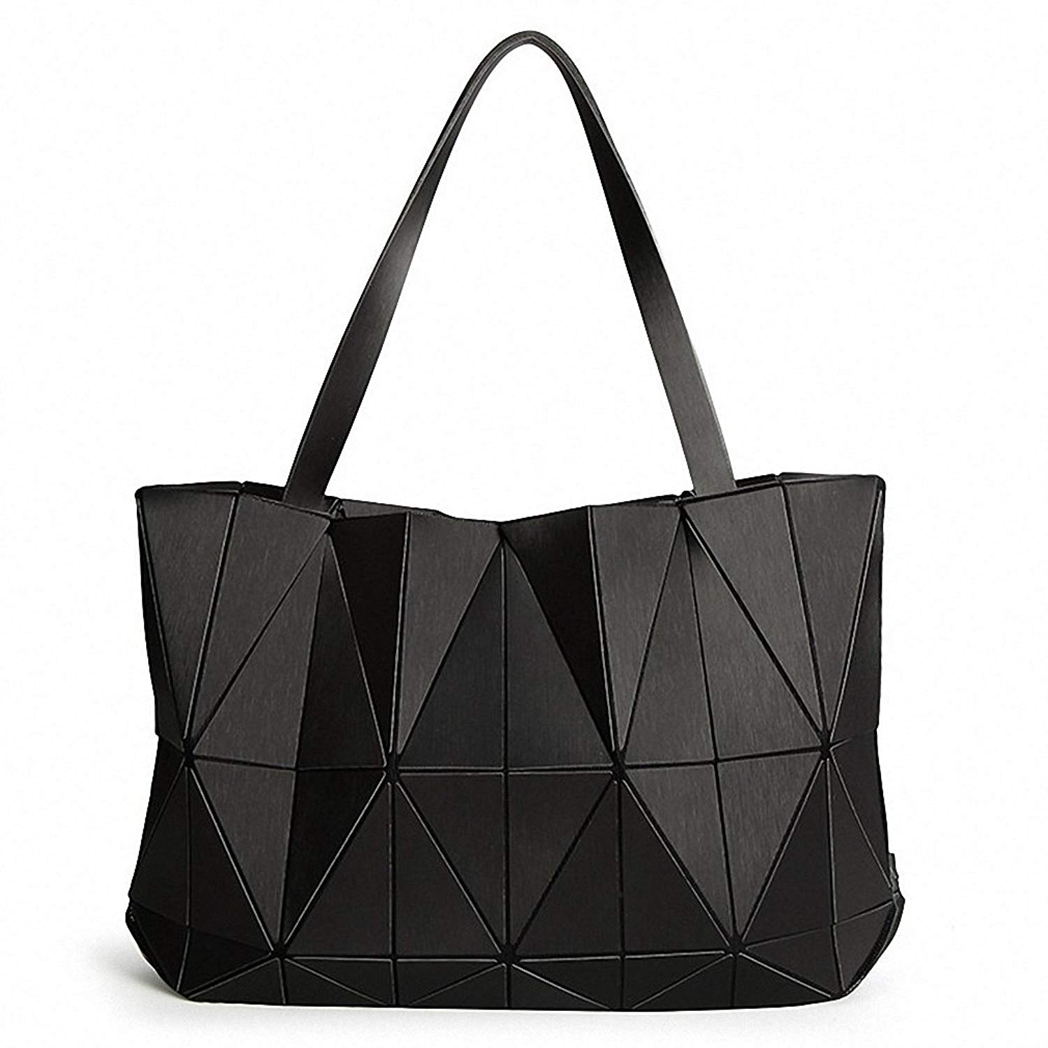 b68aa031fb88 Get Quotations · Women Matte Triangle Laser BaoBao Bag Female Tote Diamond  Geometry Quilted Handbag Mosaic Shoulder Bags bao