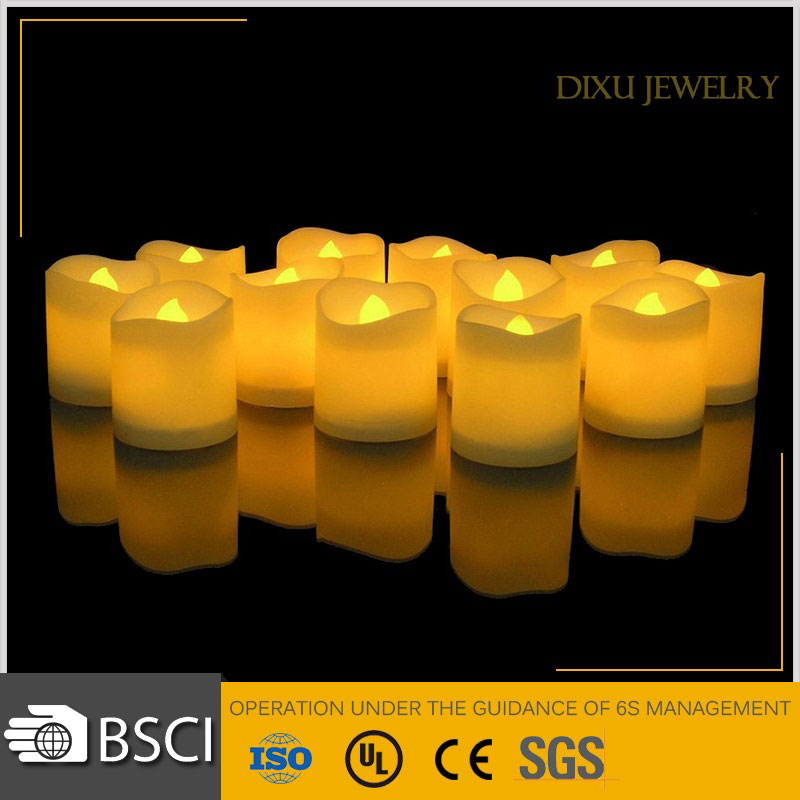 Flickering Candle Flame LED Tealight Battery Operated Mini LED Tea Light LED Candles