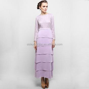 2016 Hotsale Lace Dubai Dress Elegant Muslim Dress Fashion Baju ...