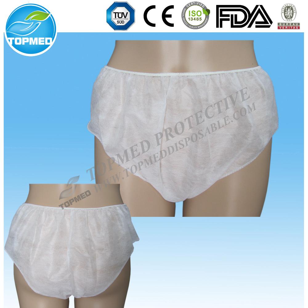 8708398ea114 Disposable Cotton Travel Panties Women Use Nonwoven Paper Underwear ...