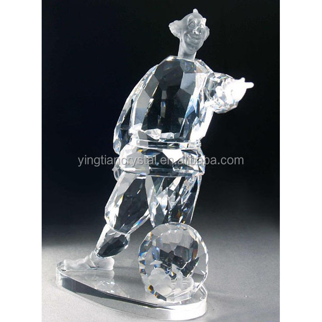 High shining quality K9 Crystal Statues