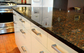 Natural Chinese Imperial Coffee Granite Countertops Kitchen