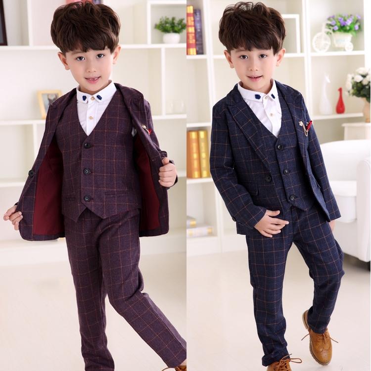 8390f97f243c7 New Children Suit Baby Boys Suits Kids Blazer Boys Formal Suit For Wedding