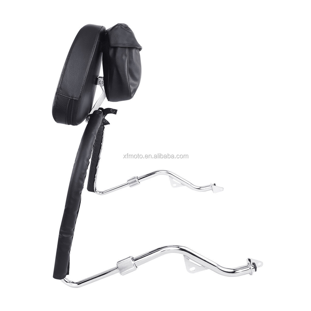 TCMT XF-GL1954-E Sissy Bar Backrest Set W/ Airbag For Honda Gold Wing GL 1800 2001-2016 2011