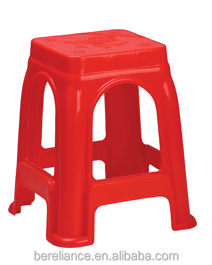 Colorful Waterproof Light Weight Plastic PP Stool