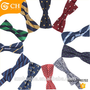 Personalized Grace Bowtie Silk Men Bow with Formal Occasion
