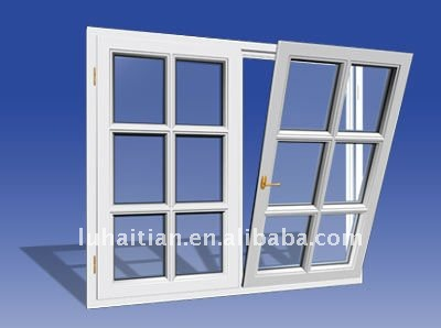 Global sourcing tempered glass commercial PVC anti-noise tilt and turn windows