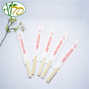 China Wholesale Top Grade Disposable Bamboo Sushi Personalized Logo Design Packing Mini Chopsticks