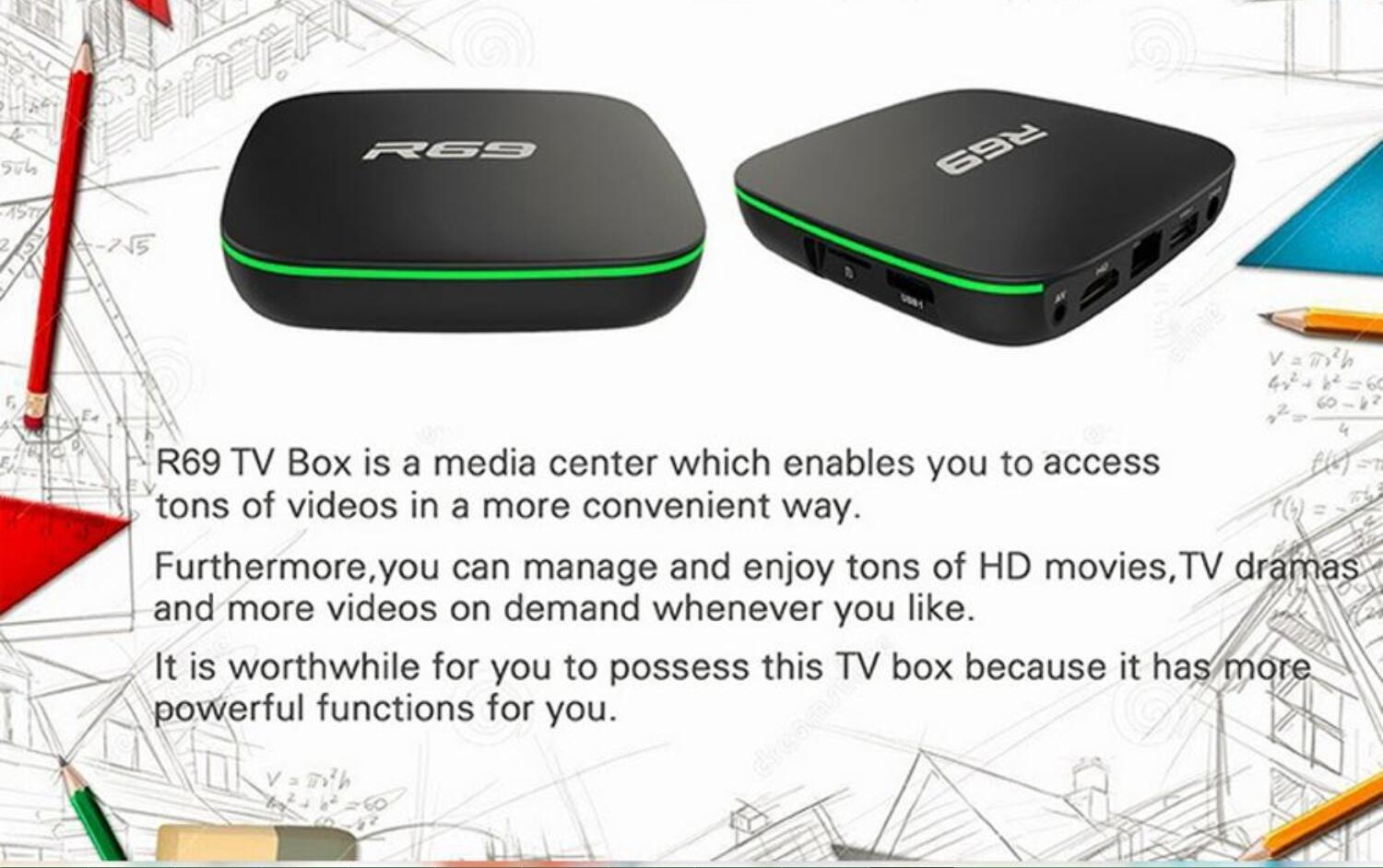 Android Tv Box 7 1 R69 S905w 2g 16g Internet Tv Set Top Box With Android  7 1 World Max Tv Box - Buy Iptv Set Top Box,Cable Tv Set Top Box,Android  Iptv