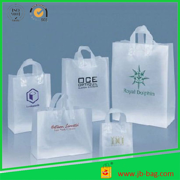 Biodegradable Plastic Carry Bags Clear Frosty Plastic Bags Hdpe Plastic  Shopping Bags,Costomized Logo - Buy Plastic Carry Bags,Shopping Plastic