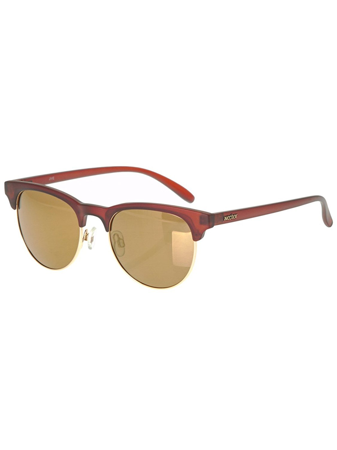 9733ede14e1 Get Quotations · Nectar Jive Polarised Sunglasses in Brown   Gold