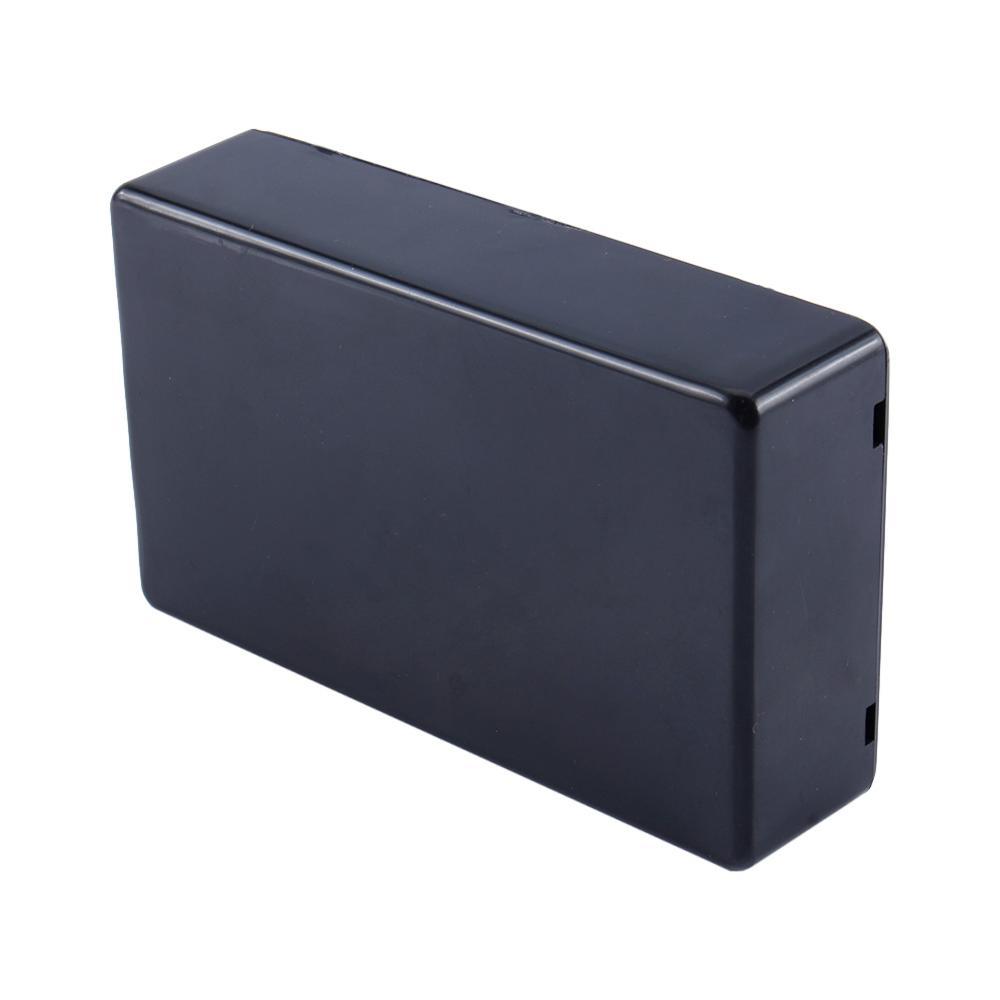 5x Grey Plastic Electronic Project Box Enclosure Instrument case DIY 100x60x25mm