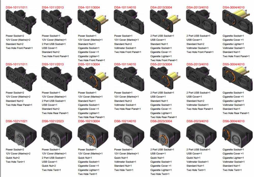 automotive power socket car fuse assortment set automotive blade fuses auto truck suv boat